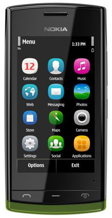 Nokia 500 Sim Free Unlocked Mobile Phone