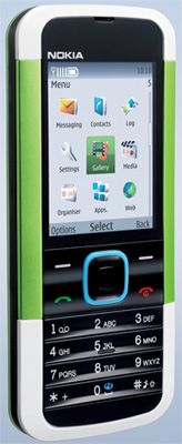 Nokia 5000 (Ciber Green) Sim Free Unlocked Mobile Phone