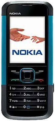Nokia 5000 (Neon Blue) Sim Free Unlocked Mobile Phone