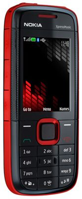 Nokia 5130 (Xpress Music) Red Sim Free Unlocked