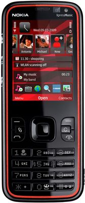 Nokia 5630 XpressMusic Sim Free Unlocked Mobile Phone