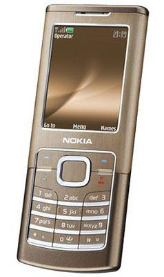 Nokia 6500 Classic Bronze Sim Free Unlocked Mobile Phone