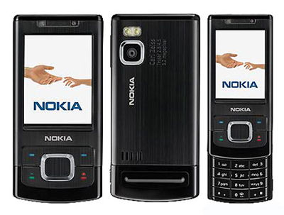 Nokia 6500 Slide (Black) Sim Free Unlocked Mobile Phone