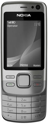 Nokia 6600i Slide (Silver) Sim Free Unlocked Mobile Phone