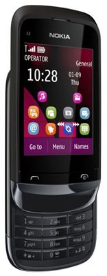 Nokia C2-02 Sim Free Unlocked Mobile Phone