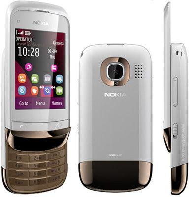 Nokia C2-02 White Sim Free