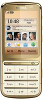 Nokia C3-01 Gold Edition  Unlocked Mobile Phone