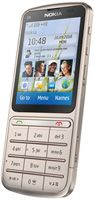 Nokia C3-01 Touch and Type Sim Free Unlocked Mobile Phone