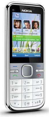 Nokia C5 White Sim Free