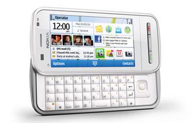 Nokia C6 White Sim Free