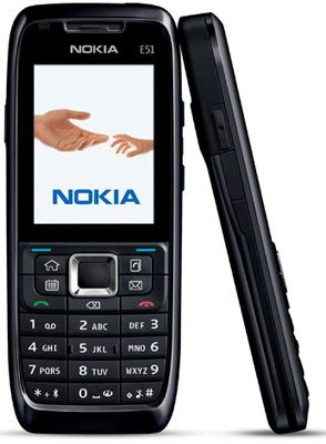 Nokia E51 Sim Free Unlocked Mobile Phone