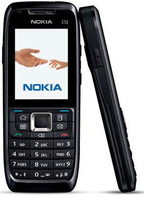 Nokia E51 Sim Free Unlocked Mobile Phone
