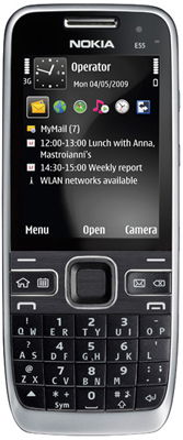 Nokia E55 Sim Free Unlocked Mobile Phone