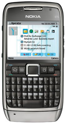 Nokia E71 Sim Free Unlocked Mobile Phone