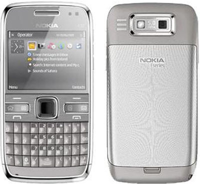 Nokia E72 Silver Sim Free