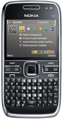 Nokia E72 Sim Free Unlocked Mobile Phone