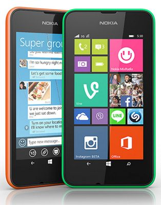Nokia Lumia 530 Sim free
