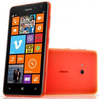 Nokia Lumia 625 Sim Free