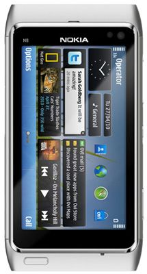 Nokia N8 Sim Free Unlocked Mobile Phone