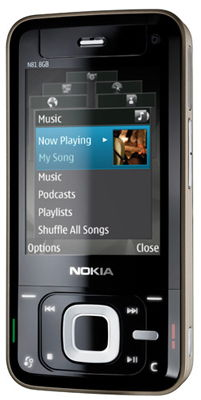 Nokia N81 Sim Free Unlocked Mobile Phone (2GB)