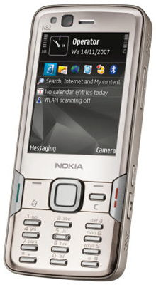 Nokia N82 Sim Free Unlocked Mobile Phone