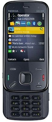 Nokia N86 Sim Free Unlocked Mobile Phone