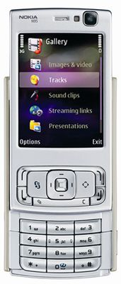 Nokia N95 Mobile Phone Sim Free Unlocked