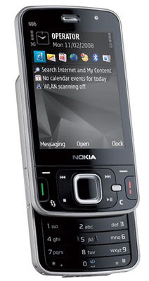 Nokia N96 (Quartz) Sim Free Unlocked Mobile Phone