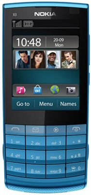 Nokia X3-02 Sim Free Unlocked Mobile Phone