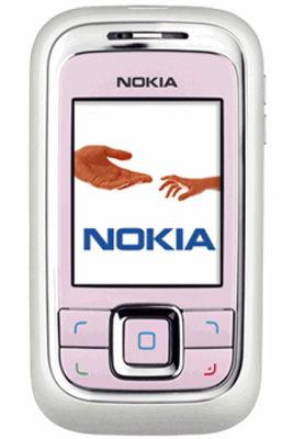 Nokia 6111 Pink Mobile Phone Sim-Free Unlocked
