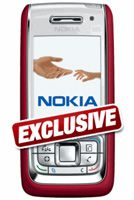 Nokia E65 Red Mobile Phone  Unlocked