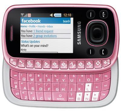 Samsung B3310 Pink Sim Free Unlocked Mobile Phone