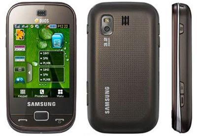 Samsung B5722 Sim Free Unlocked Mobile Phone