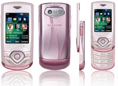 Samsung S3550 Shark 3 Pink Sim Free Unlocked