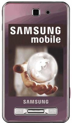 Samsung F480 Tocco (Pink) Sim Free Unlocked Mobile Phone