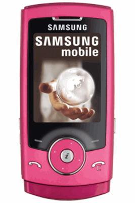 Samsung U600 Pink Mobile Phone Sim Free Unlocked