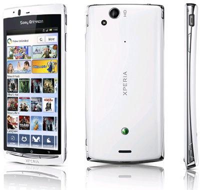 Sony Ericsson Xperia Arc S White Sim Free