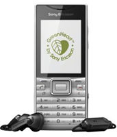Sony Ericsson Elm Silver  Unlocked Mobile Phone