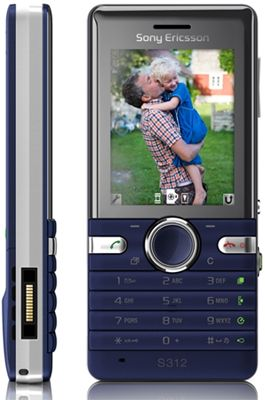 Sony Ericsson S312 Sim Free Unlocked Mobile Phone