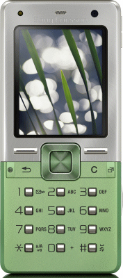 Sony Ericsson T650i Green Sim Free Unlocked Mobile Phone