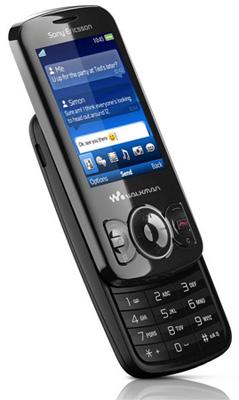 Sony Ericsson W100 Spiro Sim Free Unlocked Mobile Phone