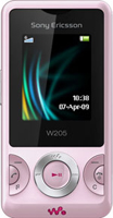Sony Ericsson W205 Pink  Unlocked Mobile Phone