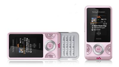 Sony Ericsson W205 Pink Sim Free Unlocked Mobile Phone