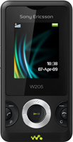 Sony Ericsson W205  Unlocked Mobile Phone