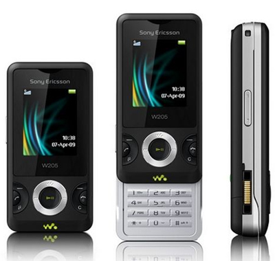 Sony Ericsson W205 Sim Free Unlocked Mobile Phone