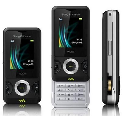 Sony Ericsson W205 Sim Free Unlocked Mobile Phone