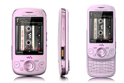 Sony Ericsson W20i Zylo Pink Sim Free Unlocked Mobile Phone