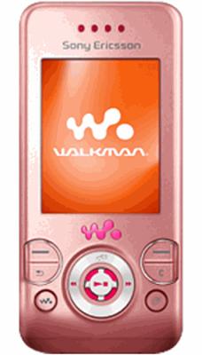 Sony Ericsson W580i Pink Sim Free Unlocked Mobile Phone