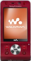 Sony Ericsson W910i (Red) Sim Free Unlocked Mobile Phone