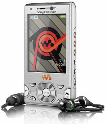 Sony Ericsson W995 (Silver) Sim Free Unlocked Mobile Phone
